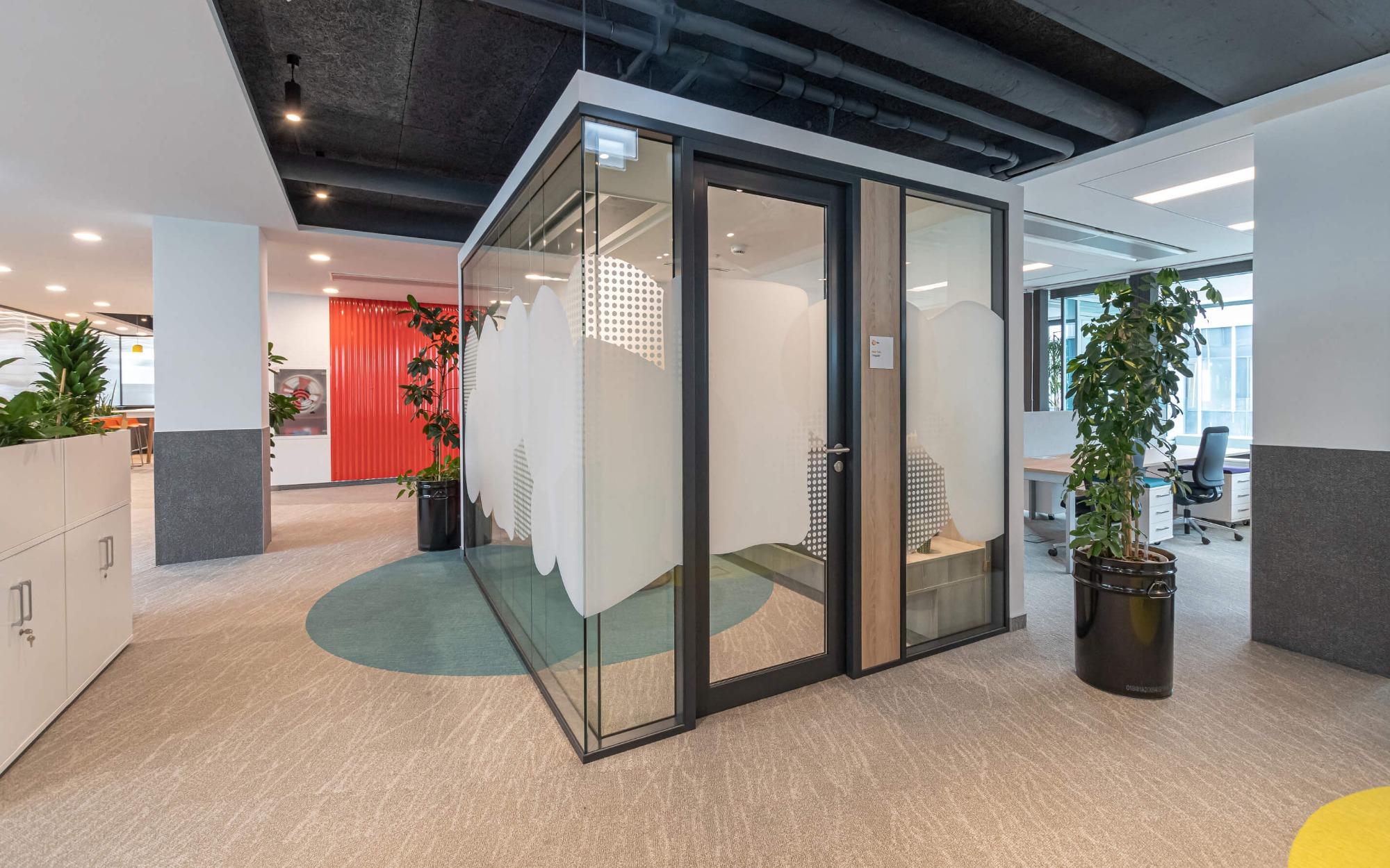 Kényelmes, otthonos irodák