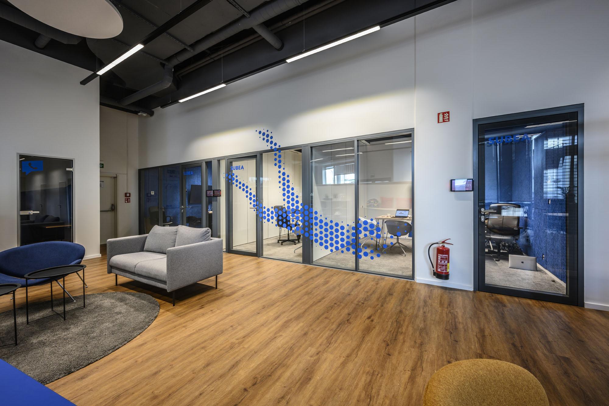 Flexibilis modern irodák különböző sportágak grafikai megjelenítésével