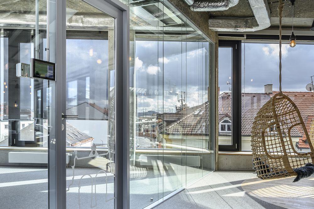 Az Aimtec Plzeň modern irodái