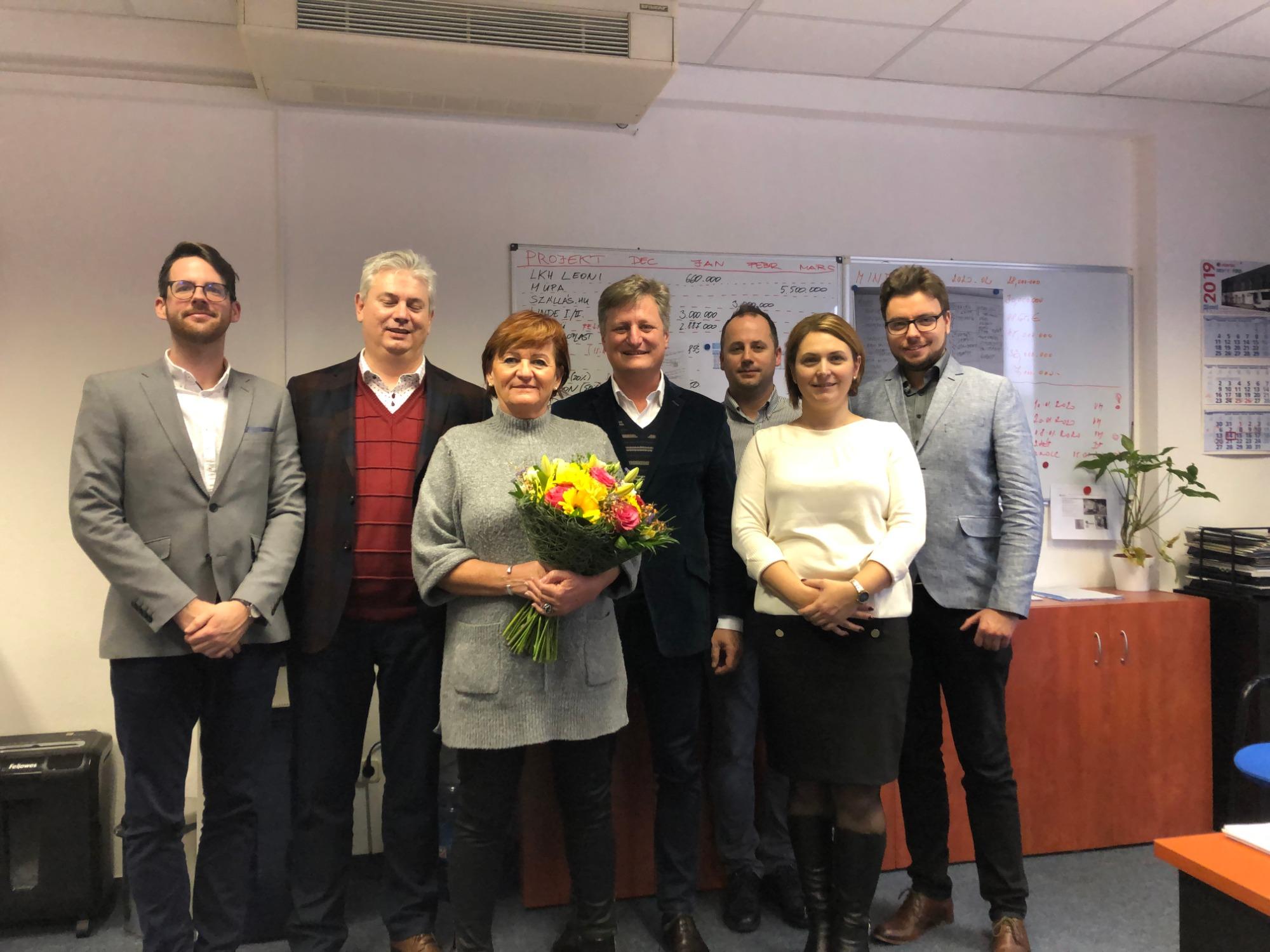 Maria Vereb 20. évfordulója a LIKO-S